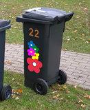 Kliko stickers bloemen_