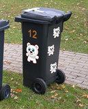 Kliko stickers beertjes_