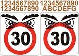 Kliko stickers snelheid 30_