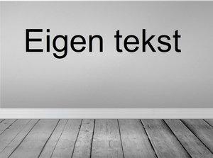 Tekststicker (max. 25 tekens)