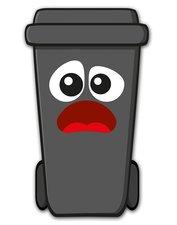 Containersticker gezicht: Tom de Klikosticker