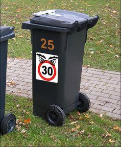 Kliko stickers snelheid 30